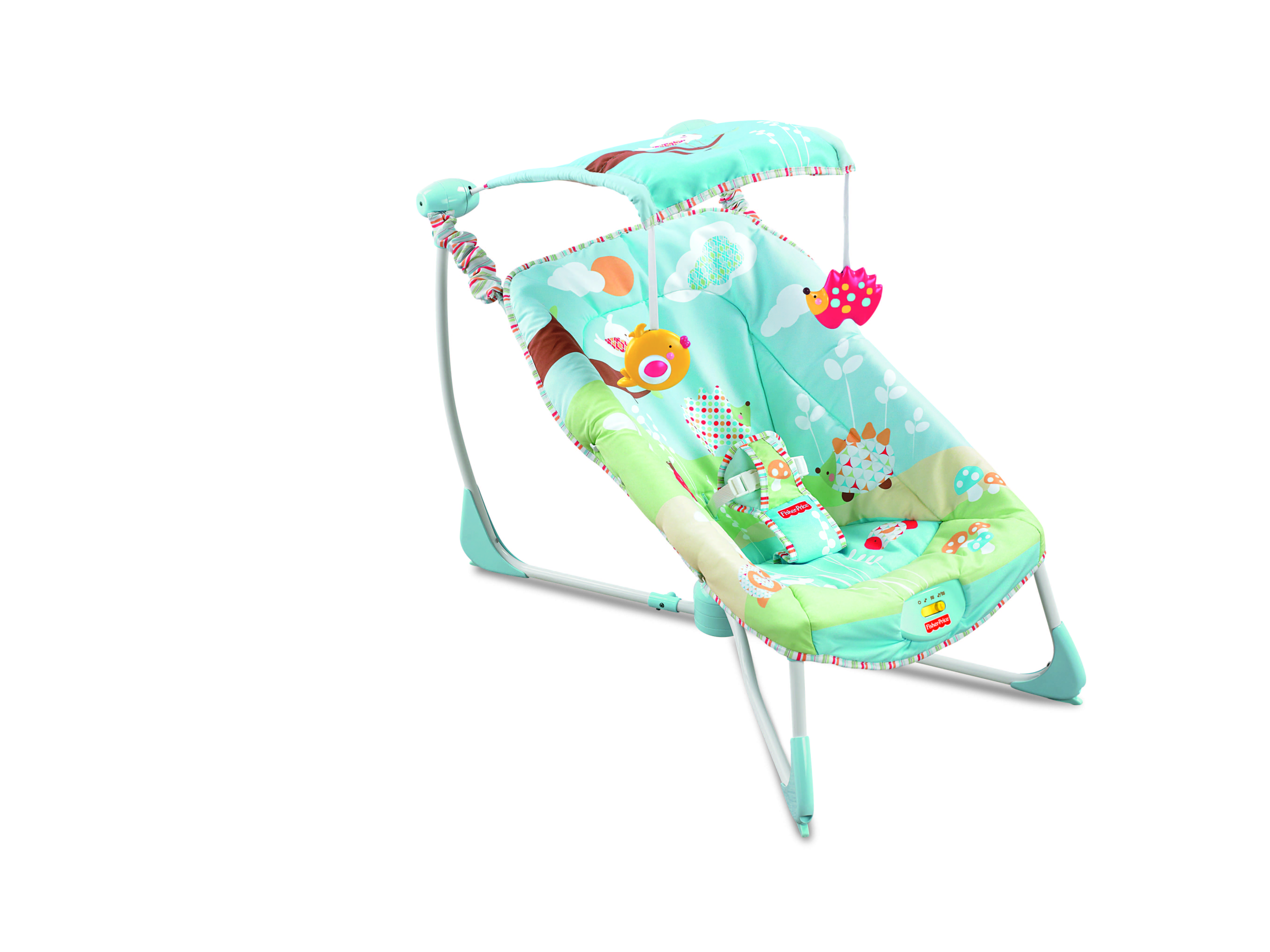 Superb img of Fisher Price: Soothe & Go Bouncy Seat – GOLD with #B01B20 color and 5436x4077 pixels